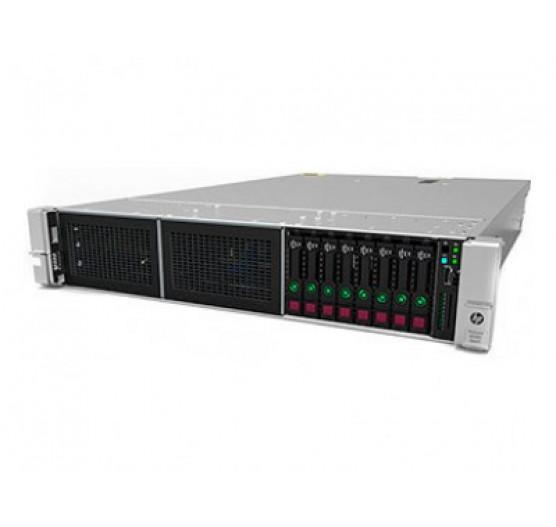 Servidor HP DL380 861000-S05 G9 Xeon E5-2630V4-10C 2.2GHZ (1X PROC.), 16GB RAM, 1X600GB SAS SFF HD, DVD-RW, 1X Fonte 500W