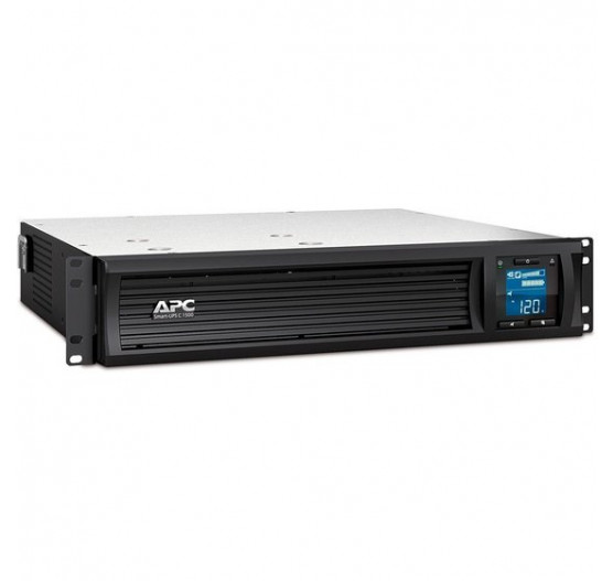 Nobreak APC SMC15002U-BR 1500VA 900W SMART-UPS C (entrada 120V/ Saida 120V) Display LCD, USB, Serial, com 4 Tomadas