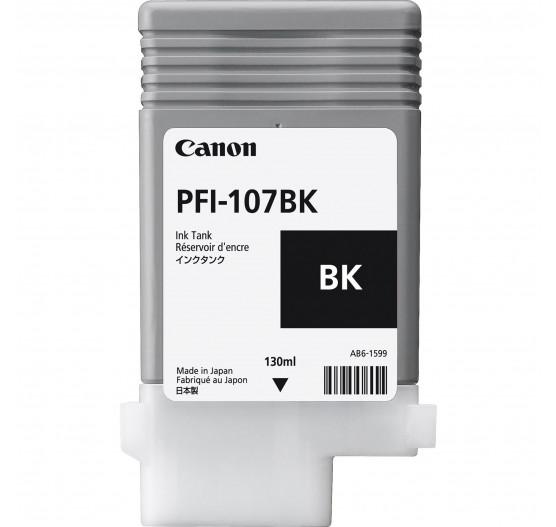 Cartucho de Tinta Canon PFI-107 BK-130ml (5pçs)- 6705B003AA