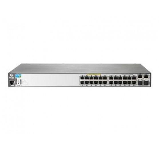 HP 2530 24G J9776A com 24x 10/100/1000Mbps + 4x portas 1G SFP