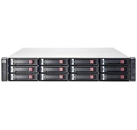 """Storage HP E7V99A MSA 1040 RACK 2U/LFF, 2X Portas Controladora Dupla 8GB FC, 12X Baias para Disco SAS 2.5"""""""