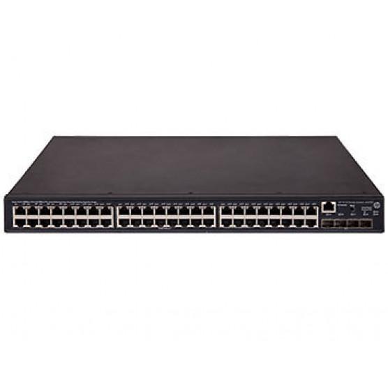 HP 5130 48G POE+ 4SFP+ EI JG978A com 48x PoE + 10/100/100Mbps RJ45 + 4x portas SFP 1G/10G