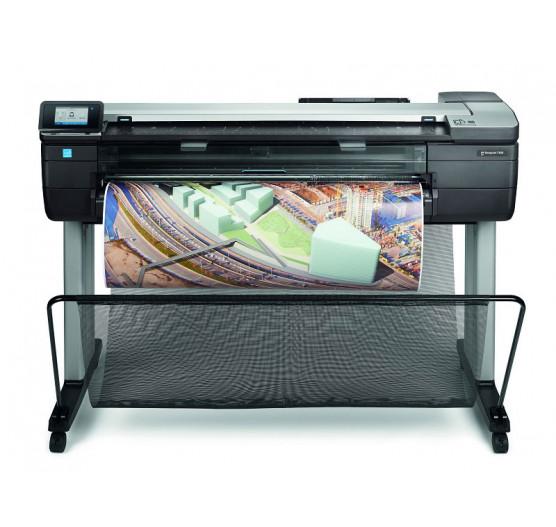Plotter HP T830 A0 36 Scanner, Boleto ATE 4X, F9A30A#B1K