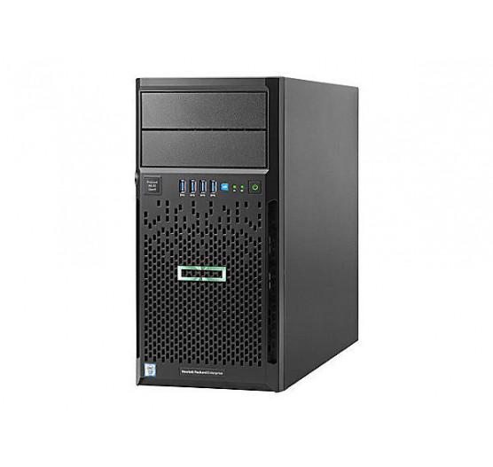 Servidor HP ML30 868165-S05 G9 Xeon E5-1220V4-4C 3.0GHZ (1X PROC.), 8GB RAM, HD 1TB, DVD-RW, 1X Fonte Fixa 350W