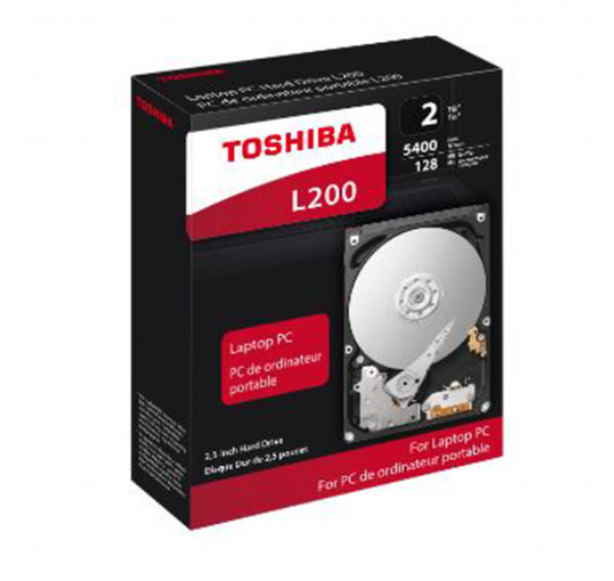 "HD Interno Toshiba 1TB 5400RPM 2,5"" p/note BOX HDWL110XZSTA"