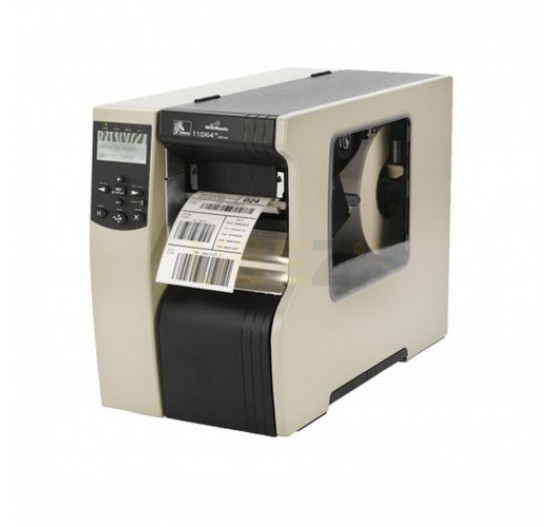 Imp Térmica de Etiqueta 110XI4 Zebra, 300 DPI SERIAL/REDE/PAR, 113-80A-00000