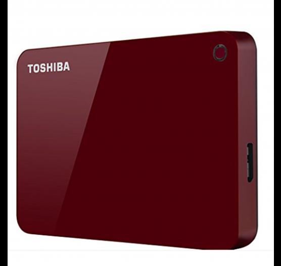 HD externo toshiba 2TB Canvio Advance HDTC920XR3AA red - V9