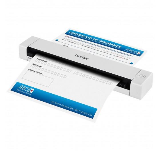 Scanner Brother Portátil DS620 A4 7.5ppm