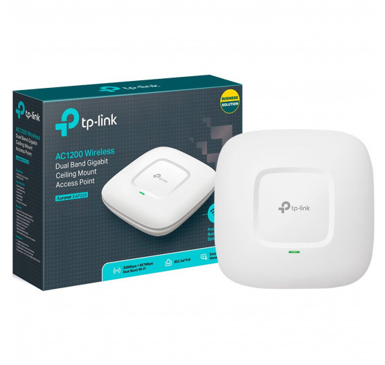 Access Point TP-LINK Wireless AC1200 Montável em Teto EAP225