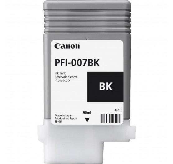 Cartucho de Tinta Canon PFI-007 BK - 90ml - 2143C001AA