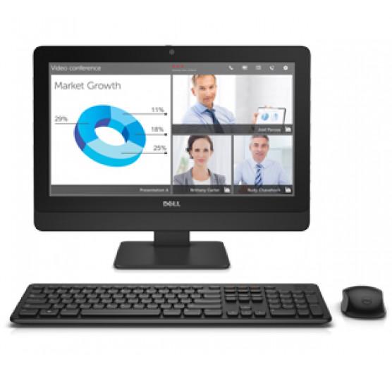 Desktop Dell 3030 Aio Core I5 4590S 3.0GHZ Quad Core, Tela WLED, HD 19.5POL, 4GB RAM, 500GB HD, 210-ACHM-0325-DC334
