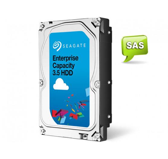 HDD 3,5 SAS Servidor 24X7 Seagate 4 Teras 7200 RPM 128MB Cache 24X7 12G/S, ST4000NM0034