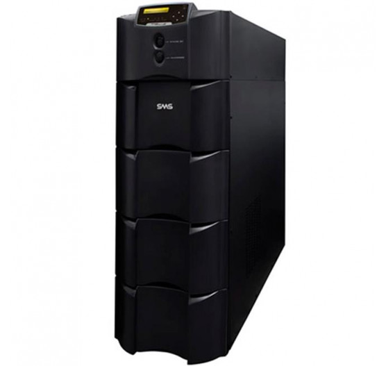 Nobreak SMS 24529 10KVA 8000W Sinus Double II BLACK (entrada 220V /SAIDA 115/220V Simul.) com Bornes
