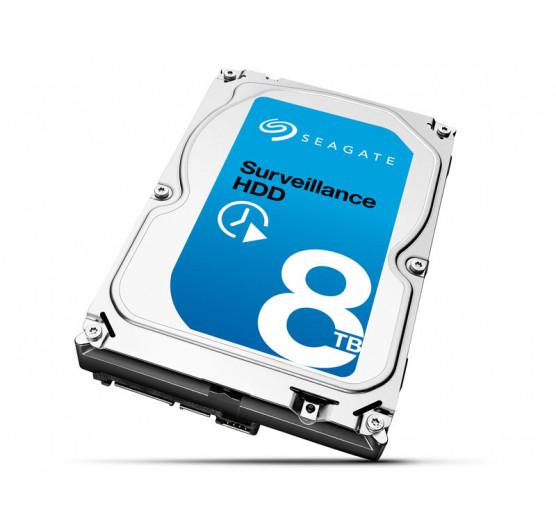 HDD 3,5 SATA Surveillance Seagate 8 Teras 7200RPM 256MB Cache 24X7 6GB/S, ST8000VX0002