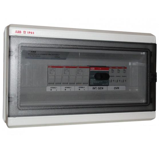 1SL0618A00 STRING BOX Protetor de Surto ABB Quadro 3 ENTRADAS/1 Saida 3STR 32A 1000V,CENTRIUM ENERGY
