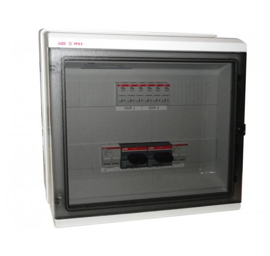 1SL0638A00 STRING BOX Protetor de Surto ABB  Quadro 2 ENTRADAS/2 Saida 2STR 10A 1000V,CENTRIUM ENERGY