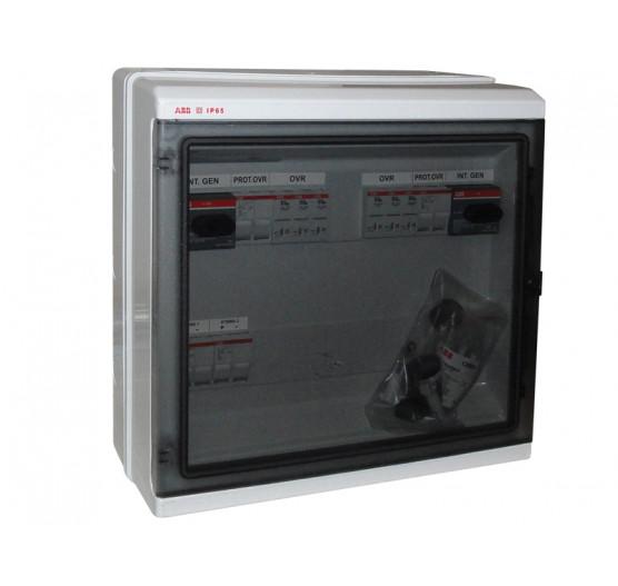 1SL0642A00 STRING BOX Protetor de Surto ABB Quadro 4 ENTRADAS/2 Saida 4STR 40A 1000V,CENTRIUM ENERGY