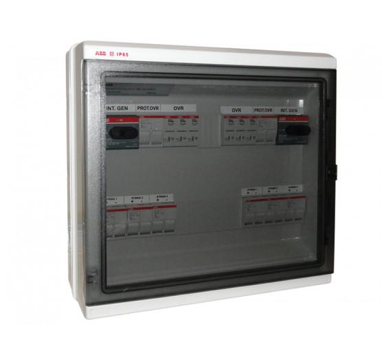 1SL0643A00 STRING BOX Protetor de Surto ABB Quadro 6 ENTRADAS/2 Saida 6TR 60A 1000V,CENTRIUM ENERGY