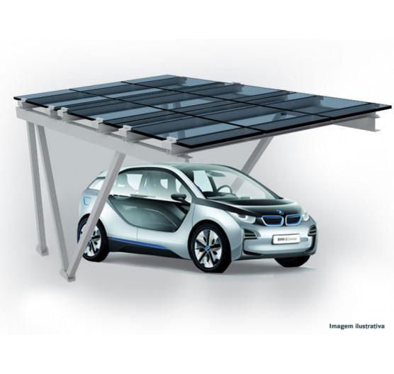 Garagem Solar ATÉ 1037 KWH MÊS C/ 27 Paineis 8,20 KWP BIF para 3 VAGAS,319326