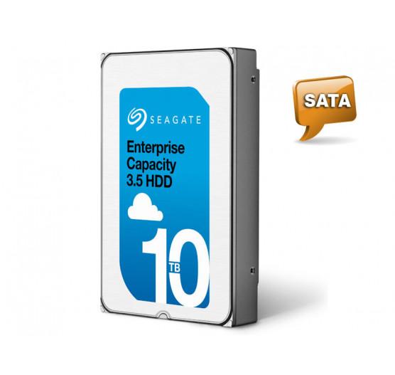 HDD 3,5 SATA Servidor 24X7 Seagate 10 Teras 7200RPM 256MB Cache 6G/S, ST10000NM0016