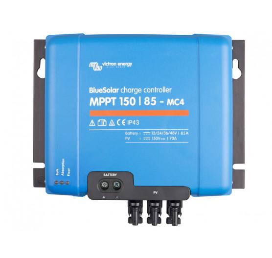 Controlador de Carga SCC010085300 Victron Bluesolar MPPT 150/85-MC4 12/24/36/48V-85A,CENTRIUM,BOLETO a Prazo