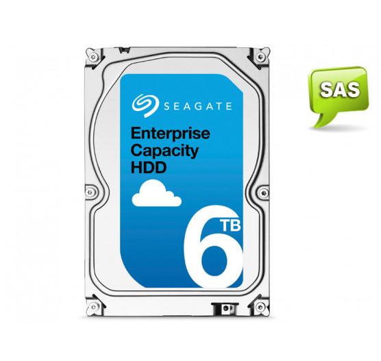 HDD 3,5 SAS Servidor 24X7 Seagate 6 Teras 256MB Cache 7200RPM 12GB/S, ST6000NM0095