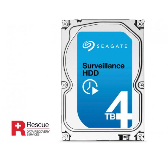 HDD 3,5 Seagate SATA 4 Teras Surveillance 5900RPM 64MB Cache 24X7 6GB/S, ST4000VX002