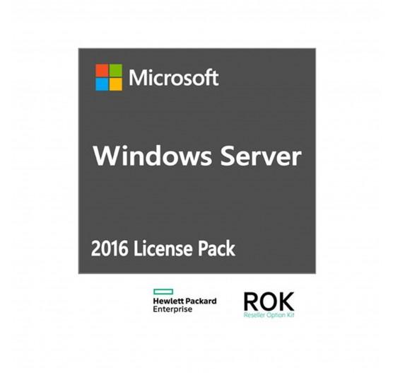 CAL HPE ISS Windows Server 2016 para 10 usuários - 871179-B2