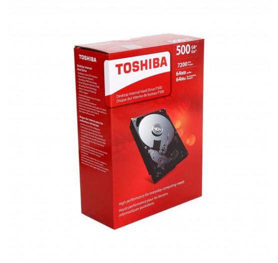 Disco Rígido Toshiba 500GB SATA p/ desk - HDWD105XZSTA