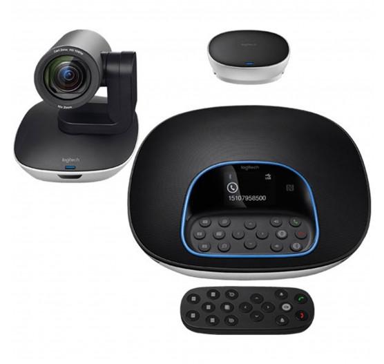 Pré-Venda Camera Logitech Group HD System Video Conferencia - 960-001054