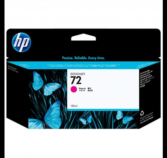 Cartucho de tinta HP 72 Magenta PLUK 130ml - C9372AB