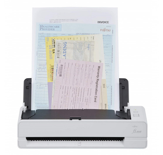 Fi-800R Scanner A4 Fujitsu, Digitaliza Passaportes e outros Documentos, Duplex 40ppm