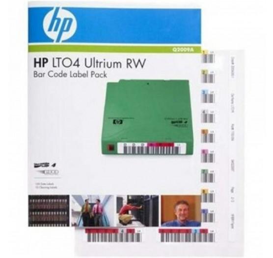 Cartucho de Fita HP LTO-4 Read/Write Bar Code Label Pack - Q