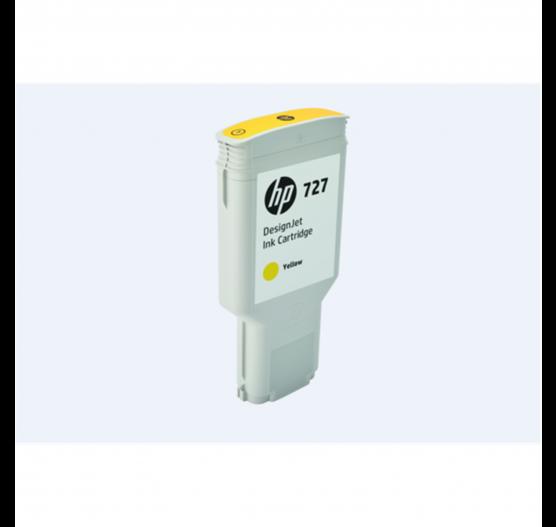 Cartucho de Tinta HP 727 Amarelo PLUK 300ml - F9J78A