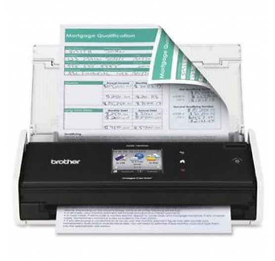 Scanner Brother c Display TouchScreen DUP WIFI - ADS1500W