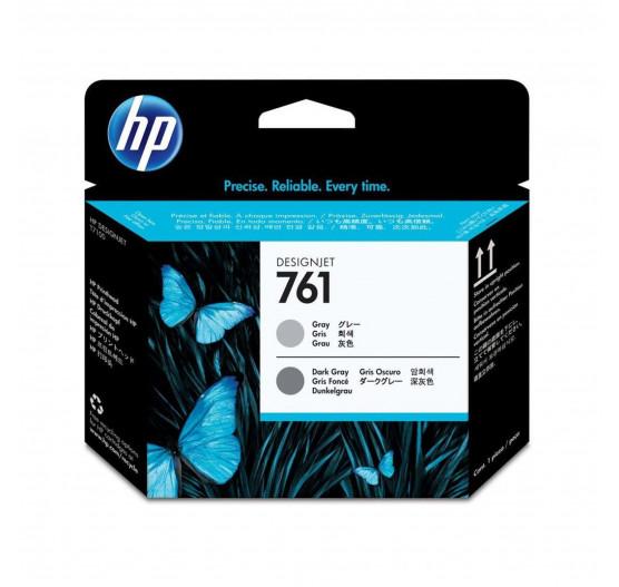 Cabeça impressão HP 761 Cinza/Cinza Escuro PLUK - CH647A
