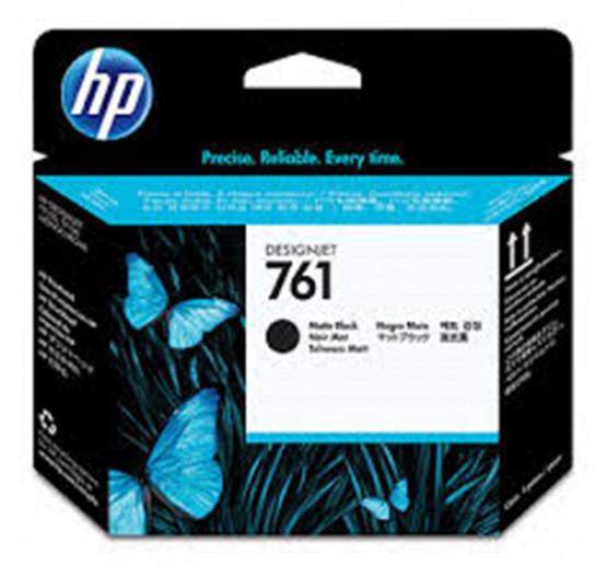 Cabeça de impressão HP 761 Preta Fosca PLUK - CH648A