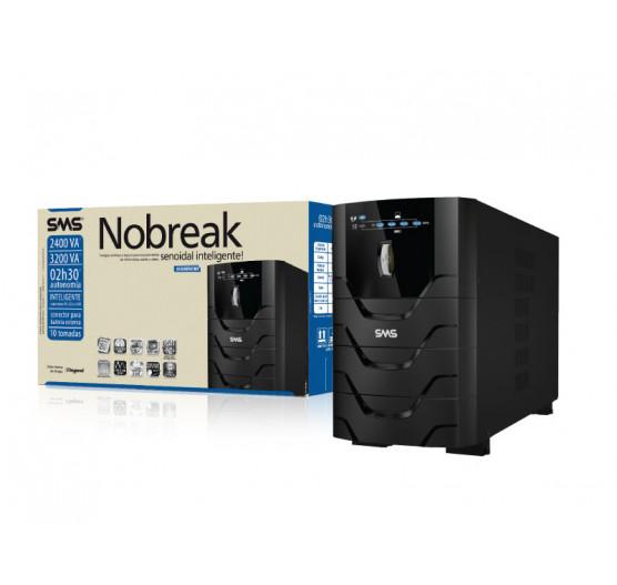 Nobreak SMS 27872 3200VA 1984W Power Sinus II (entrada Bivolt /saida 115V) Expansivel,com 10 Tomadas