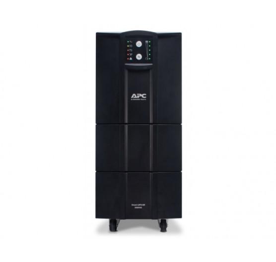 Nobreak APC SMC3000XLBI-BR 3000VA 3000W SMART-UPS C (entrada BIVOLT/ Saida 115V) USB, Smartslot, Expansivel, com 8 Tomadas