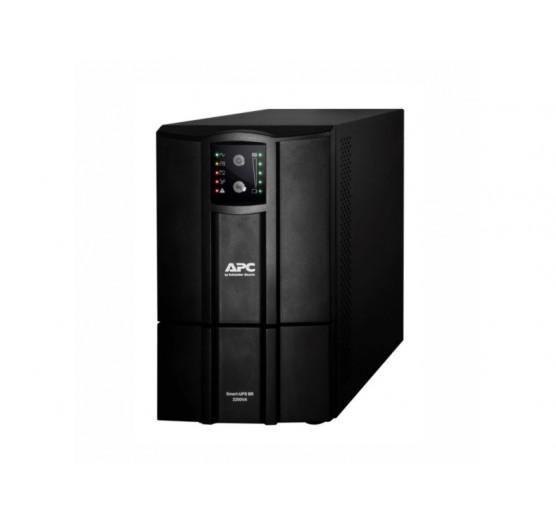 Nobreak APC SMC2200XLI-BR 2200VA 2200W SMART-UPS C (entrada 220V/ Saida 220V) USB, Smartslot, com 8 Tomadas