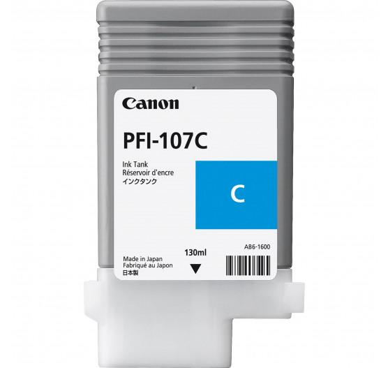 Cartucho de Tinta Canon PFI-107 C-130ml (5pçs) - 6706B003AA