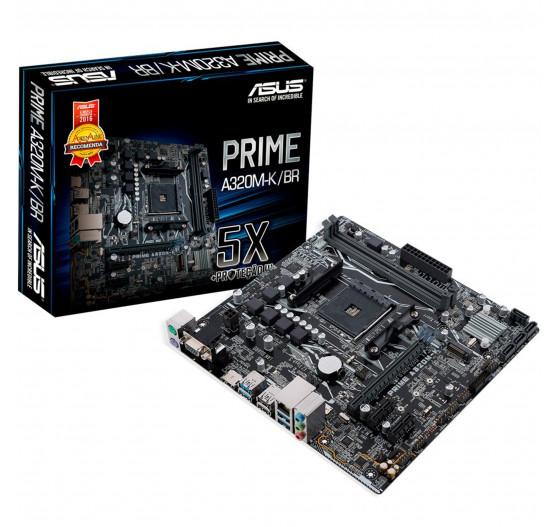 MB Asus (AMD) A320M-K/BR DDR4/mATX/AM4/HDMI/RJ45/USB3.1
