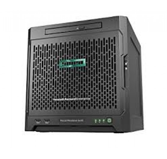 Servidor HP Torre MicroServer Gen10 AMD OpteronTM X3216 2C 1.6GHz (1x Proc.), 8GB RAM, 1TB HD SATA, 1x Fonte 200W (com sistema operacional ClearOs)