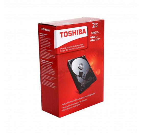 "HD Interno Toshiba 2TB 7200RPM 3,5"" p/desk BOX HDWD120XZSTA."