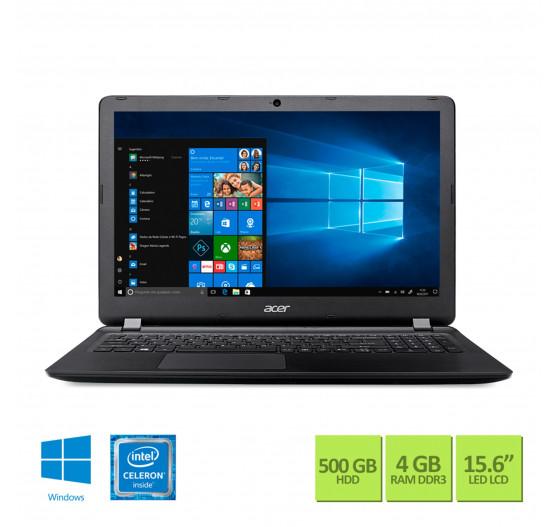 "Notebook Acer 15,6"" ES1-533-C8GL Celeron DC  N3350 4GB 500GB"