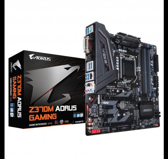 MB Gigabyte GA-Z370M-AORUS GAMING 8 Ger/DDR4/mATX/HDMI/DVI