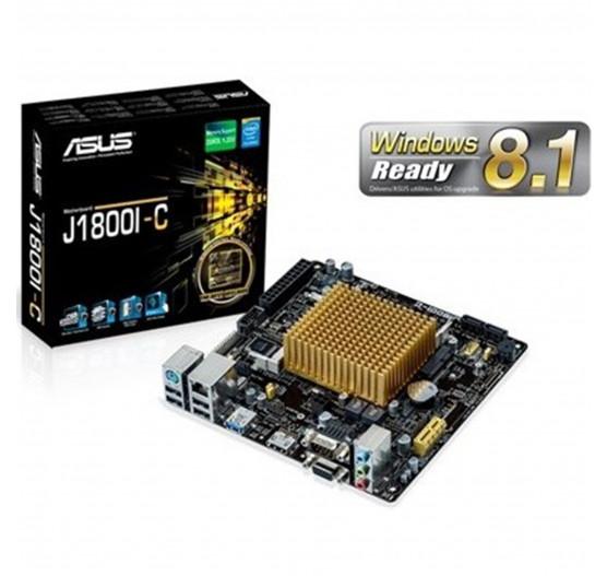 Placa Mãe Asus J1800I-C/BR DualCore Integrado/DDR3L MiniITX