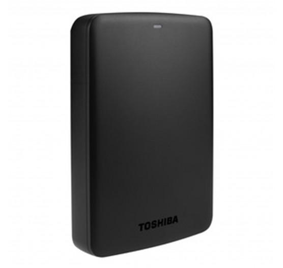HD Externo Toshiba 3TB Canvio Basics PRETO - HDTB330XK3CB