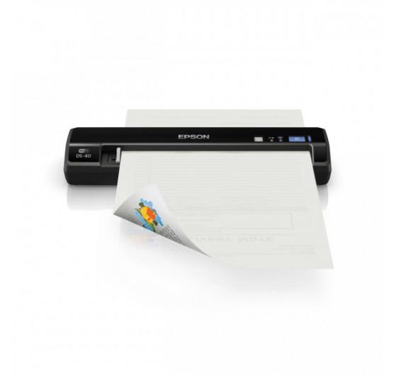 Scanner Epson DS-40 B11B225201 Workforce Portatil WI-FI