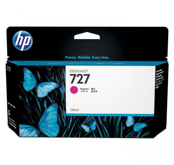 Cartucho de tinta HP 727 Magenta PLUK 130ml - B3P20A